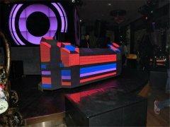 成都全彩LED DJ台显示屏