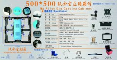 500mmx500mm压铸箱体