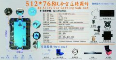 512mmx768mm压铸箱体